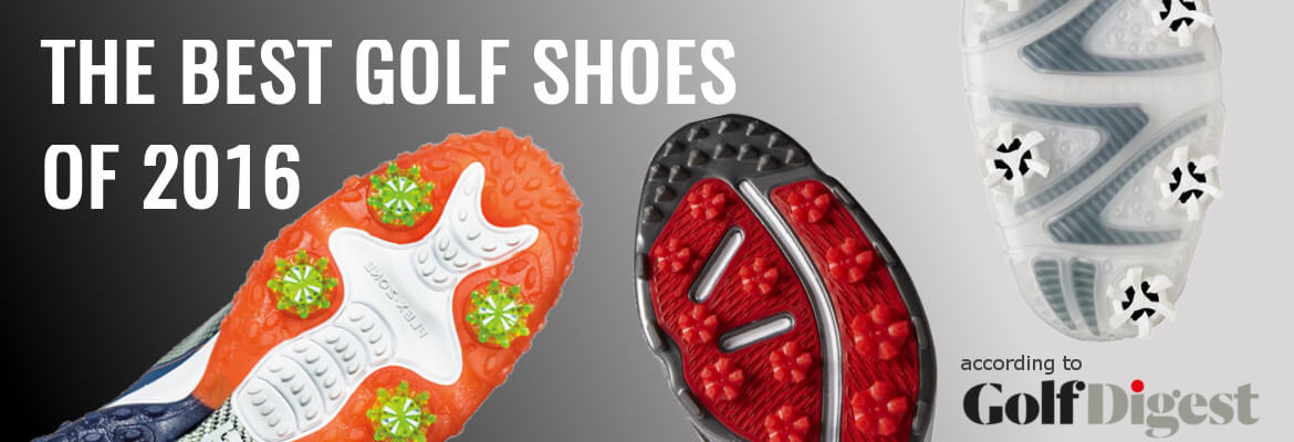 Best Golf Shoes of 2016 according to Golf Digest