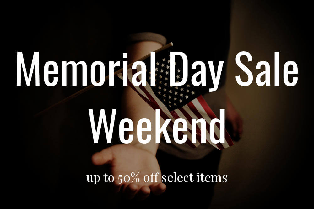 Memorial Day Sale Weekend