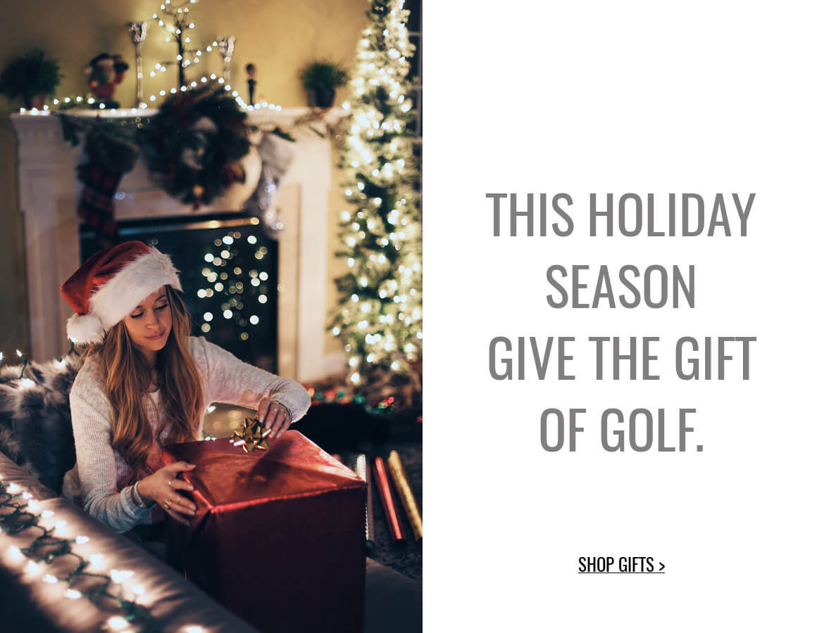 Shop Golf Gifts for the Holidays