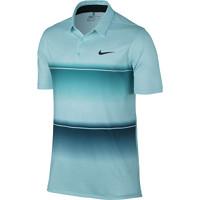 Nike Golf Mobility Stripe Polo - Rio Teal/Copa/Anthracite