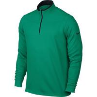 Nike Golf Dri-Fit 1/2 Zip Longsleeve - Teal Charge/Black