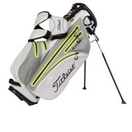 Titleist StaDry Waterproof Stand Bag - Light Grey/Dark Grey/Lime