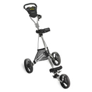 Bag Boy Express DLX Pro Golf Push Cart - Silver