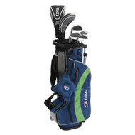 US Kids ULTRALIGHT Club Carry Bag Set - Right Handed - Navy