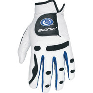 Bionic PerformanceGrip Golf Glove Left Hand Regular - White/Blue Trim