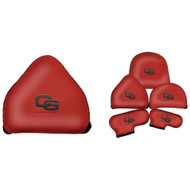 Club Glove Gloveskin Premium 2 Ball Mallet Putter Cover - Red