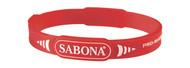Sabona Pro-Magnetic Sport Bracelet - Large Red