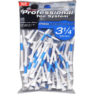 "Pride Golf Tee Co. ProLength Plus 3 1/4"" Tees 75 Count - White/Blue"