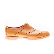 Biion Oxford Bright Unisex Golf Shoes - Leather/Orange