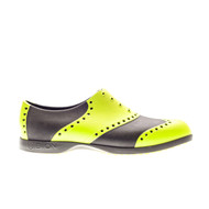 Biion Wingtip Unisex Golf Shoes - Green/Black