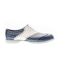 Biion Oxford Pattern Unisex Golf Shoes - Anchor