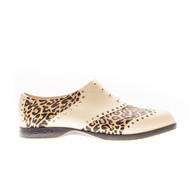 Biion Oxford Pattern Unisex Golf Shoes - Leopard