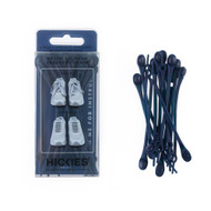 Hickies No-Tie Elastic Shoelaces - Navy