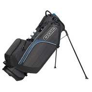 Ogio CLOSEOUT Ozone Golf Stand Bag - Ash/Blue