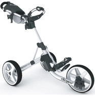 Clicgear 3.5+ Push Cart in White