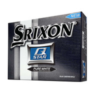Srixon Q-Star Golf Balls - 2 DZ - Pure White