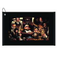 """Devant Sport Towels """"La Famiglia: A Tribute to The Godfather"""" Hi-Def Golf Towel"""
