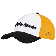 TaylorMade New Era 39Thirty Fitted Golf Hat - Yellow/Black/White