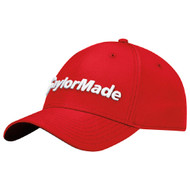 TaylorMade Performance Seeker Adjustable Golf Hat - Red