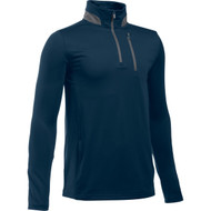 Under Armour Boys' Golf 1/4 Zip Pullover - Academy/Graphite