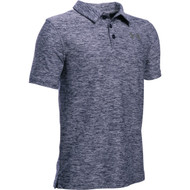 Under Armour Boys' Playoff Polo - Midnight Navy Heather/Graphite