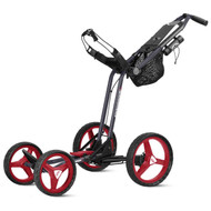 Sun Mountain 2017 Micro-Cart GT Push Cart - Navy/Red/White
