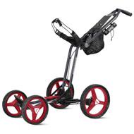 Sun Mountain 2017 Micro-Cart GT Push Cart - Navy/Red/White