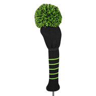 Driver Headcover - Solid - Black/Lime