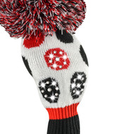 Driver Headcover - Sparkle Large Multi Dot - Red/Black/White