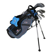 "US Kids 2016 Ultralight 5-Club Carry Bag Set - RH - 48"" Teal"