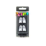 Hickies No-Tie Elastic Shoelaces - Black Multicolor