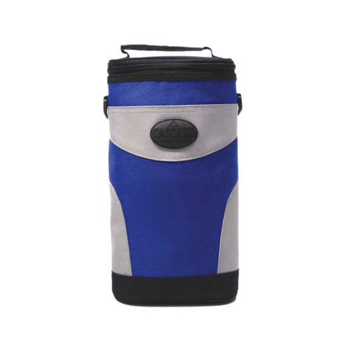 4 To Go Beverage Cooler Golf Cart Bag Attachment Blue