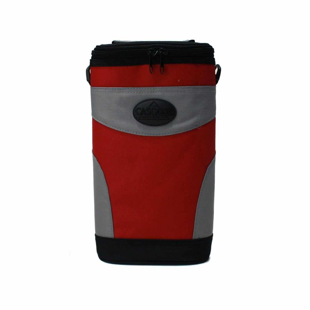 4 To Go Beverage Cooler Golf Cart Bag Attachment Red