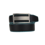 Nexbelt Pebble Grain Series Premium Belt -Black/Aqua