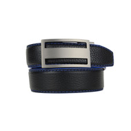 Nexbelt Pebble Grain Series Premium Belt - Black/Cobalt