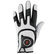PowerBilt Junior One-Fit Golf Glove - White