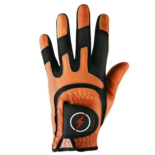 PowerBilt Junior One-Fit Golf Glove - Orange
