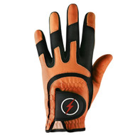 PowerBilt Men's One-Fit Golf Glove - Orange