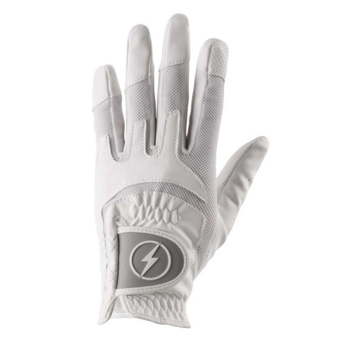 PowerBilt Women's One-Fit Golf Glove - White