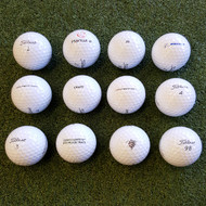 Titleist Logo Overrun Prior Generation Pro V1 Golf Balls - 1 Dozen