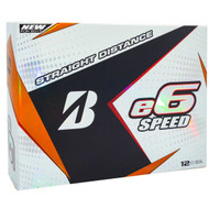 Bridgestone 2017 e6 Speed Golf Balls - 1 Dozen - White