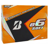 Bridgestone 2017 e6 Soft Golf Balls - 1 Dozen - White
