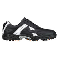 FootJoy CLOSEOUT Contour Series Contrast Men's Golf Shoes - Black/White