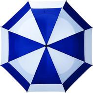 "Bag Boy 62"" Telescopic Wind Vent Umbrella - Navy/White"