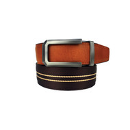 Nexbelt Classic Series: Canvas Belt - Hampton II - Deerwood Brown