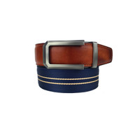 Nexbelt Classic Series: Canvas Belt - Hampton II - Nautical Blue