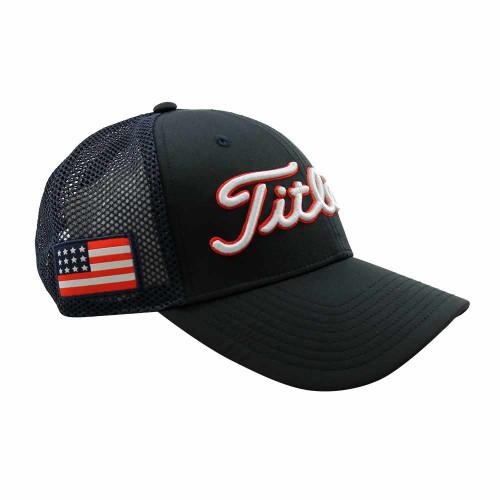Titleist Tour Performance Usa Flag Adjustable Golf Hat