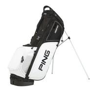 PING Hoofer Golf Stand Bag - Black/White