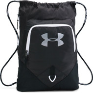 Under Armour Undeniable Sackpack - Black/White/Silver