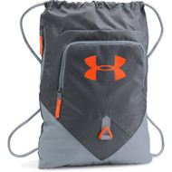 Under Armour Undeniable Sackpack - Rhino Gray/Steel/Magma Orange